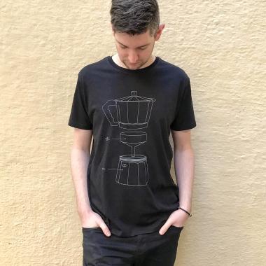 camiseta cefetera algodon organico