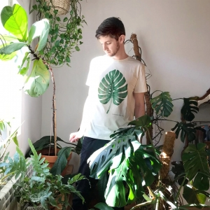 camiseta monstera