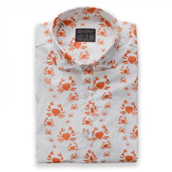 Camisa manga larga americana algodon 100%