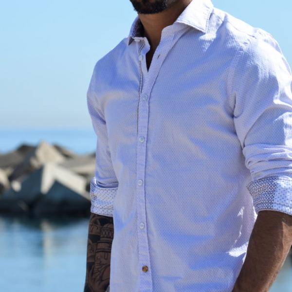 Camisa manga larga pau