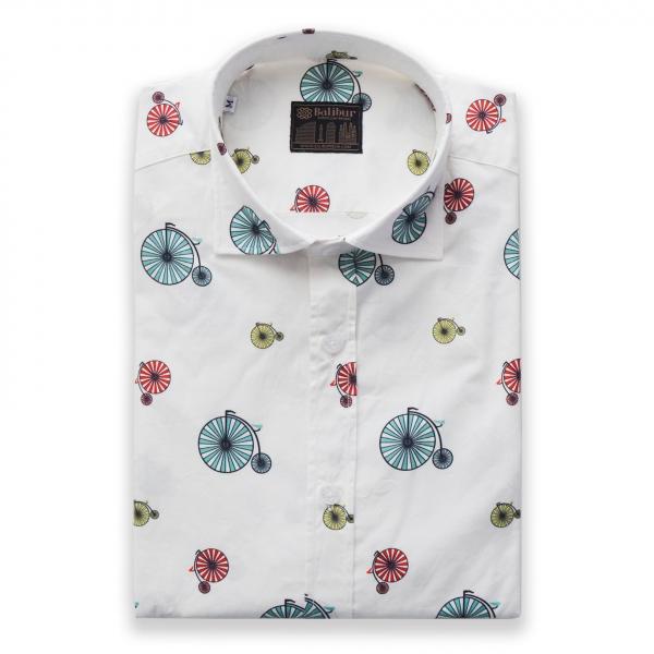 Camisa manga larga circus algodon 100%