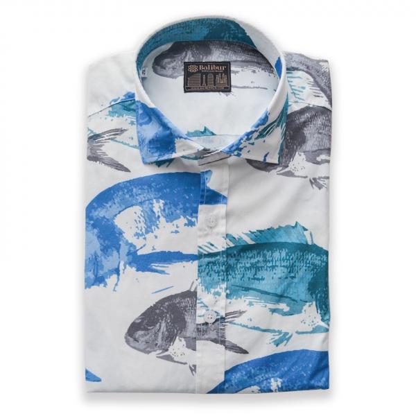 Camisa manga larga medi algodon 100%